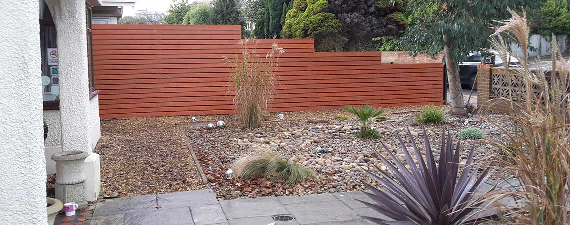 garden walls in Poole