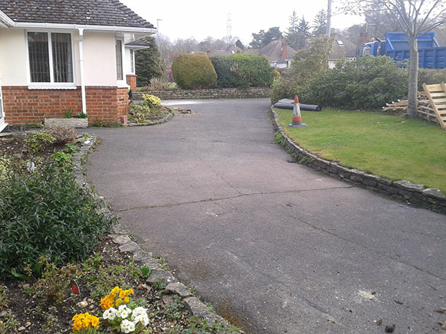 Poole Driveway before