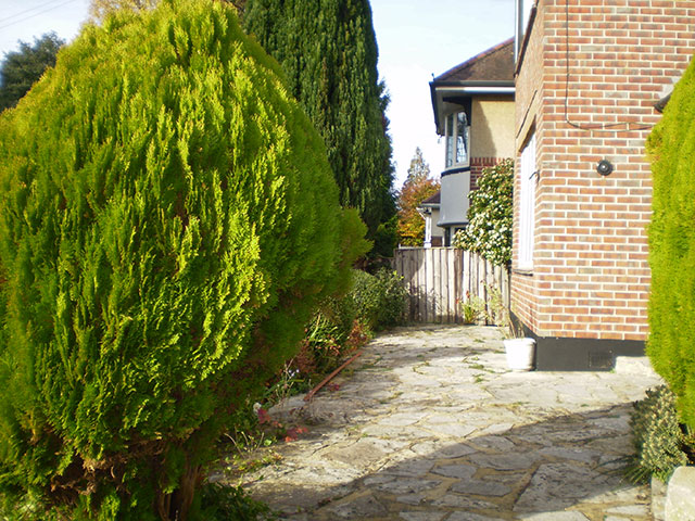 front patio entrance before